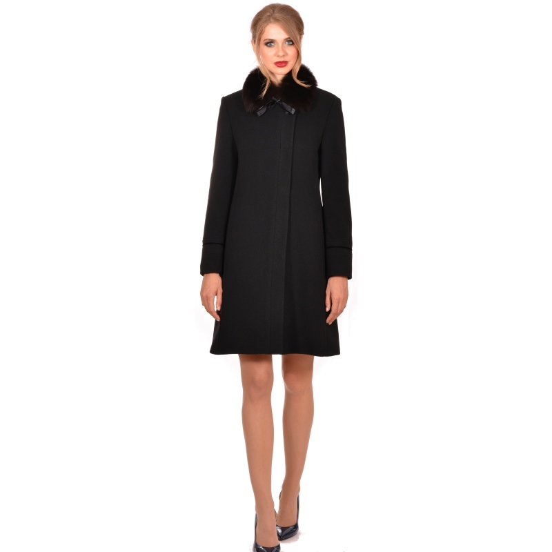 LADY M womens elegant wool coat - Marija modna odjeća - Maria Fashion company - Collection Autumn/Winter 2018-19