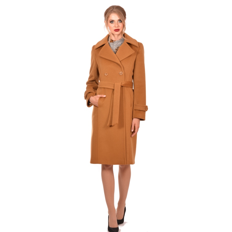 Womens classic coat, wool and cashmere - Lady M Marija modna odjeća - Maria Fashion company - Collection Autumn/Winter 2018-19