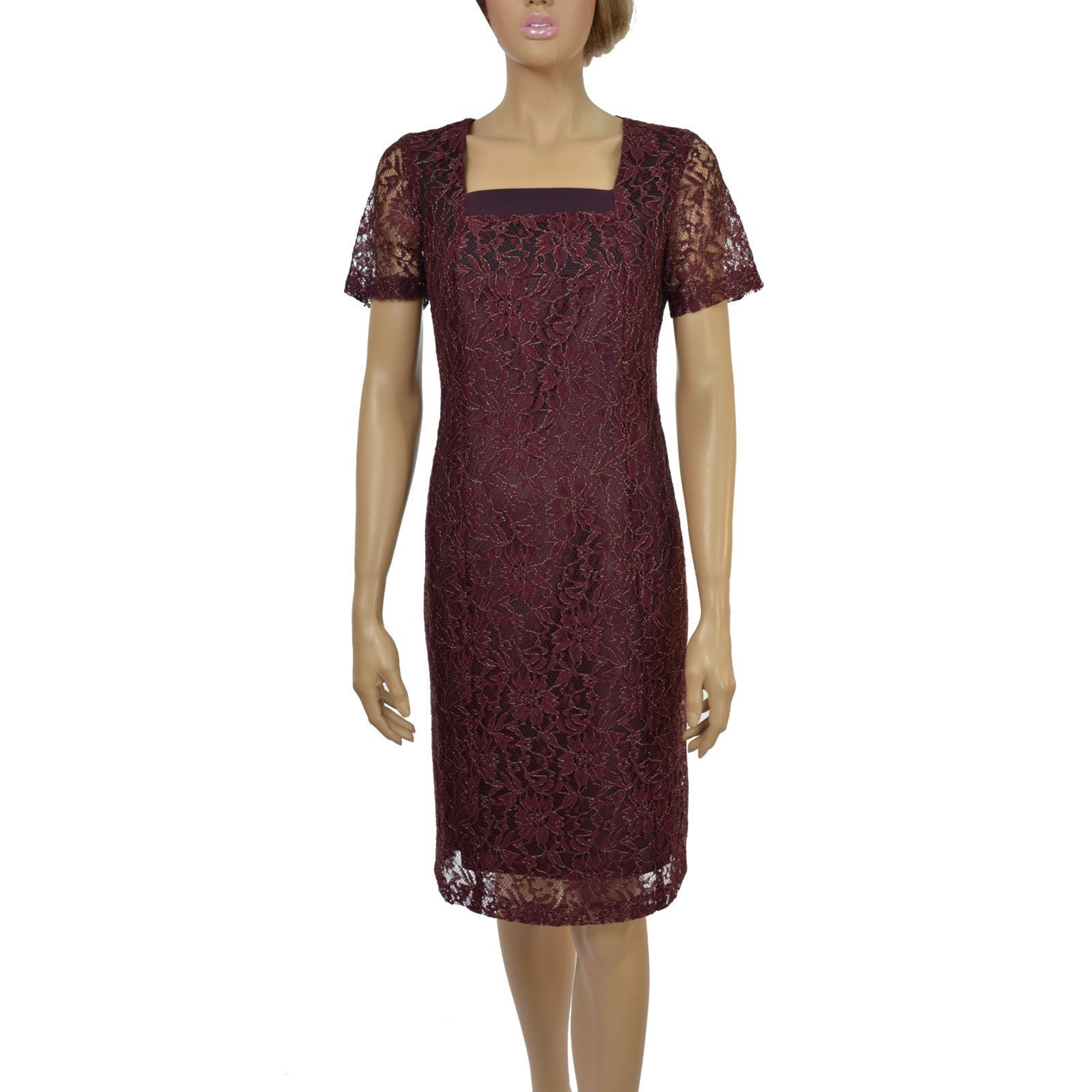 Picture of Women's Dress - LM451438 MAROON