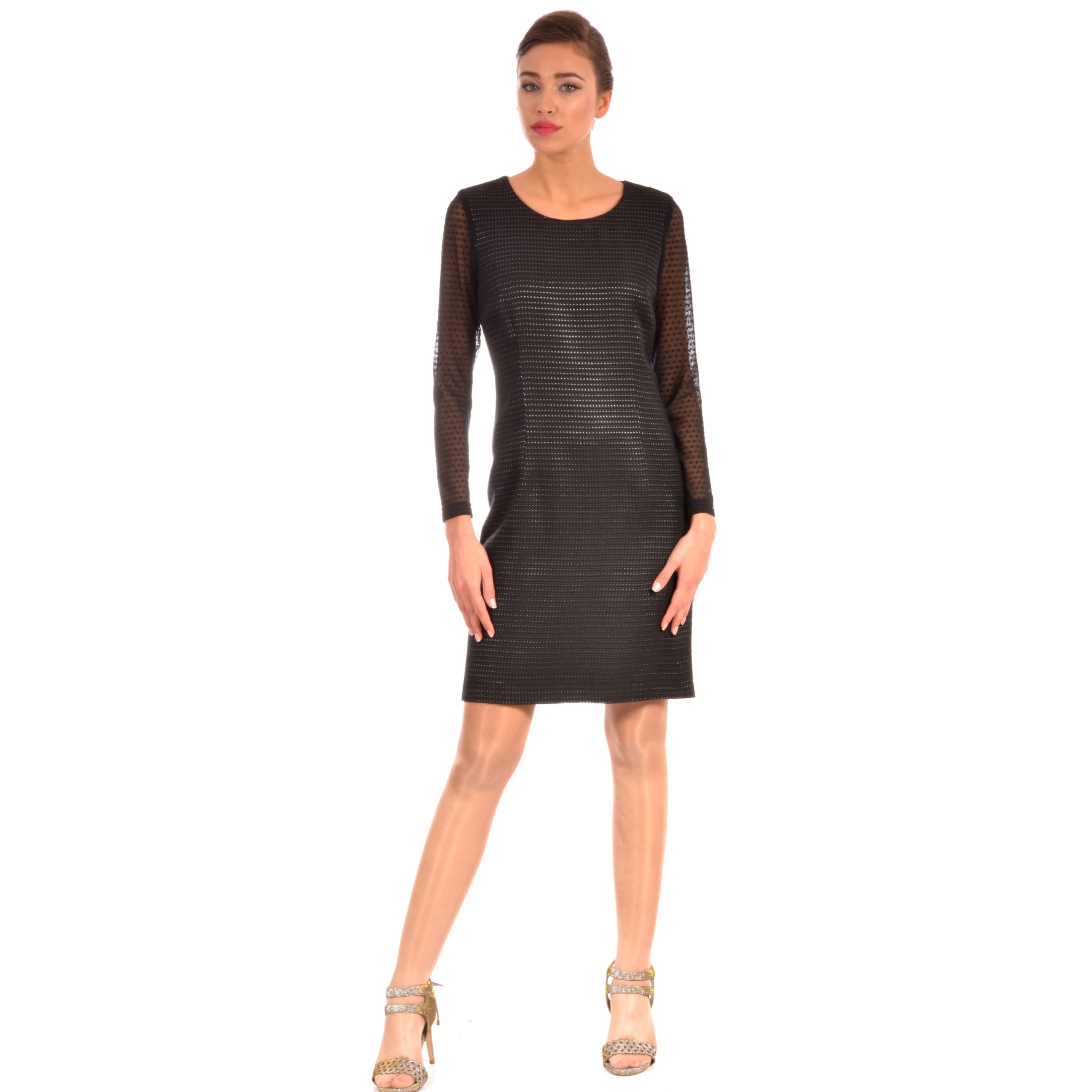 ženska haljina crna, women's dress black