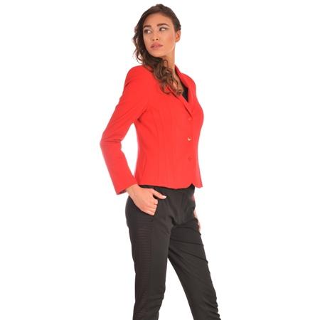 red women's blazer, crveni ženski sako-blejzer