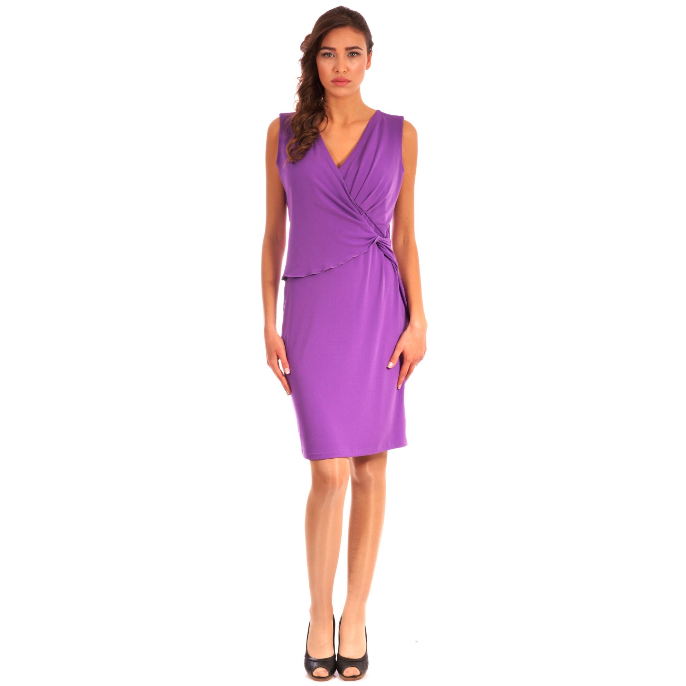 light violet women's dress lady m,ženska haljina lady m svijetlo ljubičasta