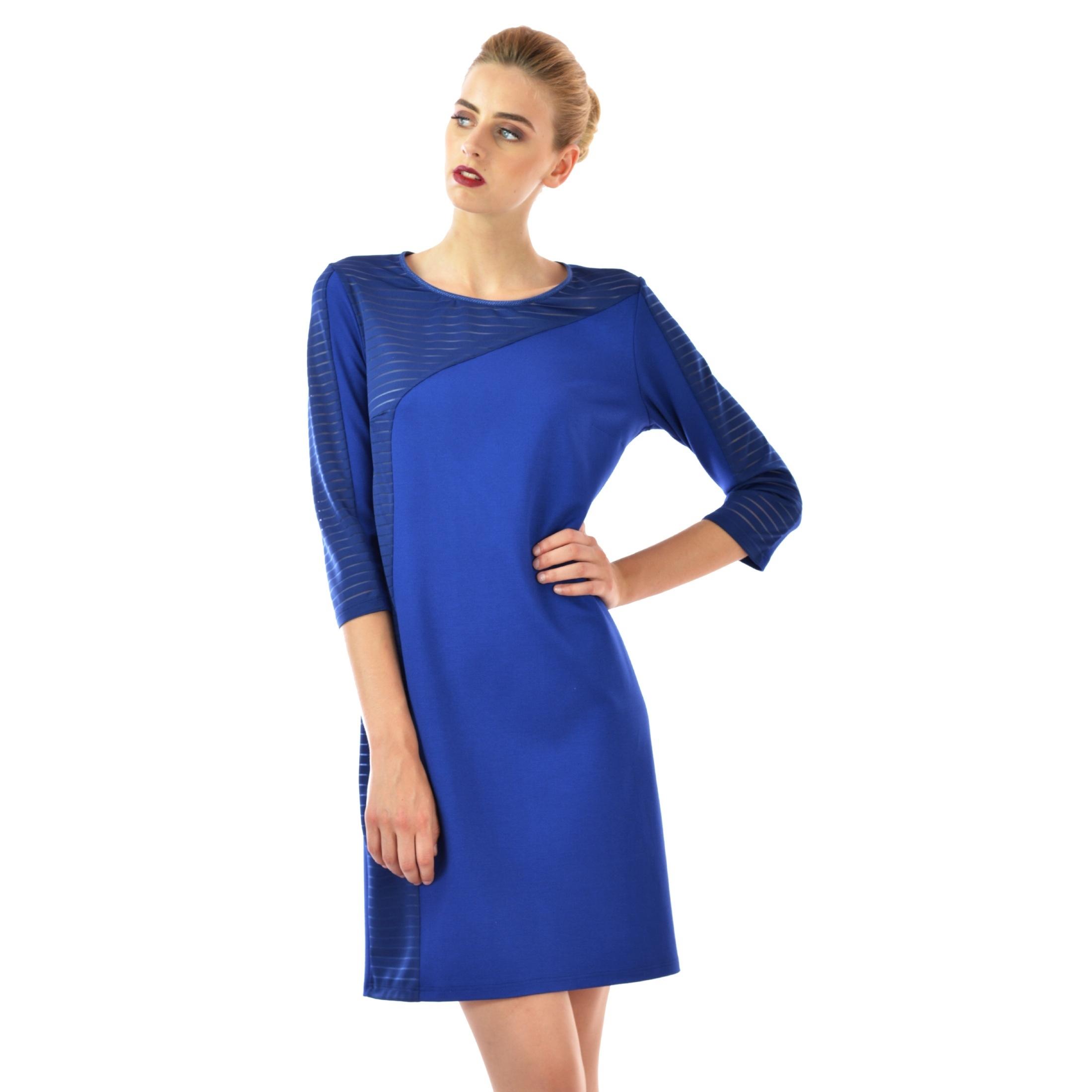 women's dress blue lady m,ženska haljina plava