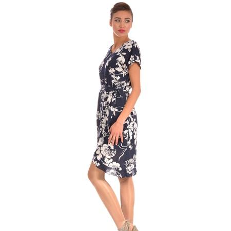 women's blue white dress lady m for spring-summer, ženska plavo bijela haljina za proljeće-ljeto lady m