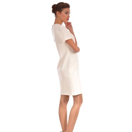 white women's dress lady m, bijela ženska haljina lady m