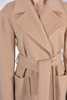 Casual camel coat with belt, wide collar, must have, smeđi kaput, camel vječni klasik