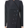 Short asymmetrical coat A line, Coat for every day